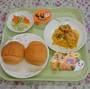 今日の病院昼食